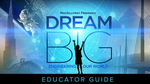Dream big educator guide image